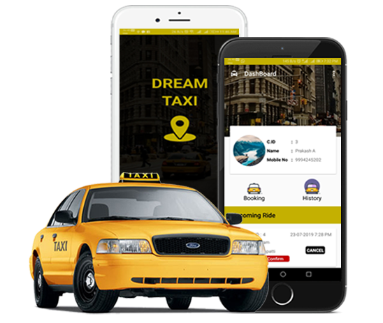 Dreamtaxi | Idreamdevelopers